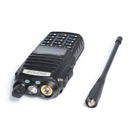 Wholesale Radios Hf - Wholesale- 6pcs Baofeng UV-82 Dual Band Walkie Talkie VHF UHF 136-174MHZ 400-520MHZ Frequency Portable Hf Transceiver Ham Radio