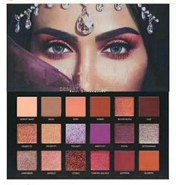 Wholesale Wholesaler Beauty - Beauty DESERT DUSK Eyeshadow 18 colors Pallete Shimmer Matte Eye shadow Pro Eyes Makeup Cosmetics free DHL