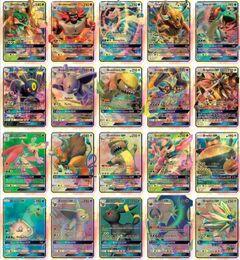 Wholesale Hot Setting - 2017 New Hot poke 60 Pcs Set GX Mega Shine English XY 25GX cards+ 35 Mega Ex cards GX Cards No repeat Kids Toys