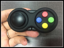 Wholesale Cube Controller - Game Controllers Magic Fidget Pad Cube Gamepad Children Desk Toy Adults Stress Relief ADHD Relieves Squeeze Decompression Hand FunToys