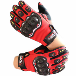 Wholesale Wholesale Red Gloves - Wholesale motorcycle riding all refers to the protection of foreign trade outdoor motorcycle protective gloves
