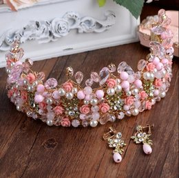 Wholesale Photography Stones - DG bride, Baroque queen, crown, pearl, diamond, photography, wedding, stage, banquet, accessories wholesale, free delivery