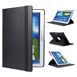Wholesale Top Note Cases - Top Fashion 1pc  360 Rotating High Quality Stand Leather Cover Case for Samsung Galaxy Note 10.1 Edition P600 P601 P605