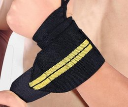 Wholesale Weight Lifting Strap Wholesalers - Wrist Support Straps Wraps For Weight Lifting Fitness Gym Sport Wristbands Hand Bands 3 Colors Training Necessary Wrist Support Straps Wraps