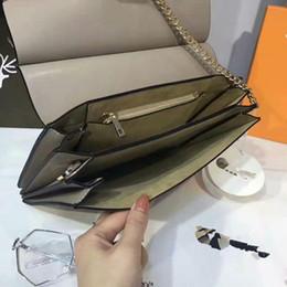 Wholesale Famous Labels - 2017 famous brand handbags boutique label box suede leather shoulder bag size chain flap cover letter L