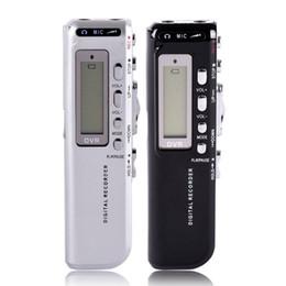 Wholesale Mini Recording Pen - Wholesale-2016 New MINI Voice Activated Digital Audio Voice Recorder 8GB Professional Recording Pen 125600 Minutes