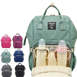 Wholesale Baby Nappy Diapers - Diaper Bag Mommy Maternity Nappy Bags Large Capacity Baby Travel Backpack Desiger Nursing Bag Baby Care For Dad and Mommy bag