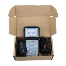 2019 outil de compteur kilométrique 2019 CK100 CK-100 V99.99 Programmateur automatique de clés mis à jour la version de l'outil de programmation automatique SBB V99.99 avec copieur de clé de voiture multilingue