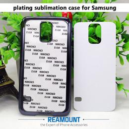 Wholesale green plastic sheets - 100pcs DIY 2D PC plastic case cover 2d sublimation case cover with Aluminum sheet for samsung Iphone 5 5s 6 6s 6plus 7 7plus