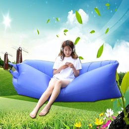 Wholesale Waterproof Bean Bag - 240*70CM floating air bean bag chair, outdoor waterproof beanbag sofa seat , good inflatable chair lazy sofa