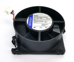 Ventilador de enfriamiento ebm online-Ventilador de enfriamiento impermeable original de EBM PAPST 3312U 12V 2.4W 200MA 90 * 90 * 32MM