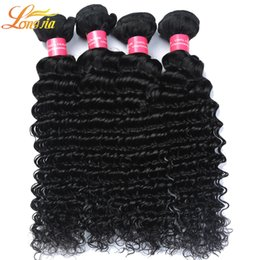 Wholesale Deep Wavy Weaving - Cheap Brazilian Human Hair Weave Grade 7A Bundle Deals,Brizilian Deep Wavy Hair,Longjia Hair Products Deep Wave Brazillian Hair100g pcs