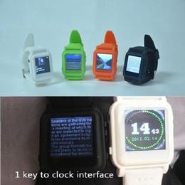 Student Watch 8GB Exam Cheating Watch multi-lingua 10 Line TXT MP4 Guarda con Ebook Video Player Music Photo view da