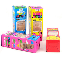 """Wholesale Funny Party Games - Small Size """"JENGA """" Board Game Environmental Protection Wood Funny Games For Party Family With Free Shipping"""
