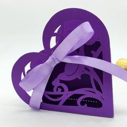 Wholesale Laser Cut Favor Boxes Bird - Party favor boxes love bird laser cut wedding favor boxes candy sweets 100pcs multi color free ship