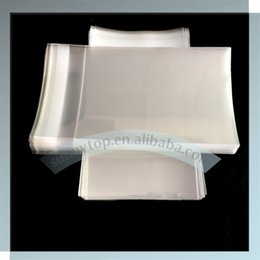 Wholesale Bag Sealing Tape - Wholesale- clear cellophane bag C5 167x229mm with lip and seal tape 6.5x9 inch