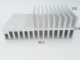 Wholesale Custom Sinks - Extrusion aluminum profile custom flexible heat sink 95.5*32.8-150 cheap best heatsink compound