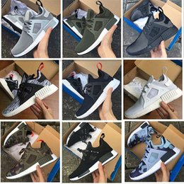 Wholesale Green Toe Socks - 2016 NMD Runner XR1 Camo x City Sock PK3 Navy NMD_XR1 Primeknit Running Shoes For Men Women Fashion Casual Shoes Trainers