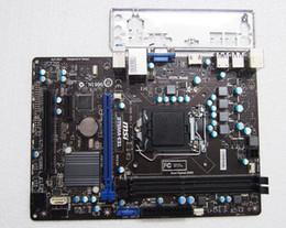 Wholesale 1155 Motherboard Asus - B75MA-E31 For MSI B75 Motherboard Socket 1155 LGA1155 CPU mATX PCIE 3.0