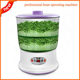 Wholesale Grow Large - Bean Sprout Maker Large Capacity New Update Intelligence Smart Green Bean Seeds Growing Automatic Bean Sprout Machine 220V