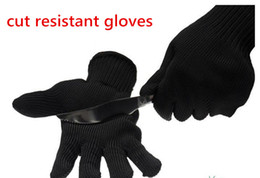 Wholesale Knives Gloves - Outdoor protective gloves 5 stage thickening, knife cutting, labor protection, steel wire, self-defense, glass handling gloves