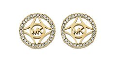 Wholesale Gold Rhinestone Numbers Letters - 2017 New exaggerated crystal letter gold-plated earrings female ear studs