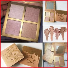 Wholesale multi way - Kylie Jenner The Wet Set 4color Bronzer & Highlighters Pressed Powder Palette Unbothered Get A Way Privacy Please Kylie Vacation Cosmetics