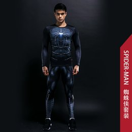 Wholesale Latex Suit Plus Size - ostumes Accessories Zentai Bodysuit Skinny Men Funny T shirt 3d Plus Compression Sets Long Fitness Suits High Quality Leggings Polyester ...