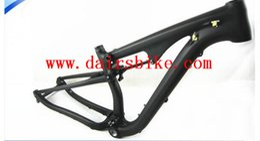 Wholesale Mtb Carbon Frameset - Free Shipping full suspension 29er carbon frame carbon MTB frameset mtb carbon mountain bike frame 29er Shock proof frame
