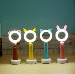 rosa studie tabelle Rabatt Die Ehre der Lampe USB, die lernende Lampe der kreativen Karikatur des Nachtlichtes lädt, lädt Studenten auf