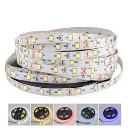 Wholesale 5mm Lights - Non-Waterproof SMD 2835 DC 12V Not Waterproof 5mm Width Narrow PCB 300Leds 5M LED Light Flexible Lamp Strip