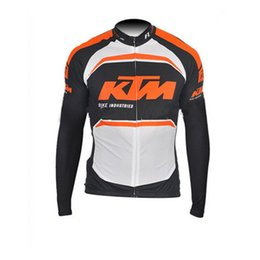 Wholesale Bike Ktm - KTM Pro Team Cycling Jersey Long Sleeve Ropa Ciclismo Maillot bike Clothing mtb bicycle sport jacket C3111