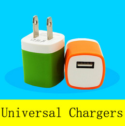 Wholesale Ipad Power - Metal Dual USB wall US plug 2A AC Power Adapter Wall Charger Plug 1 port for samsung galaxy note LG tablet ipad
