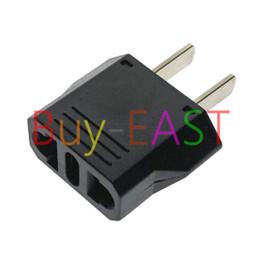 Wholesale Swiss Adapter - US,Japan,Taiwan 2 flat Pin Plug Adapter Convert EU, Swiss, Italy Plug Max 250V 6A