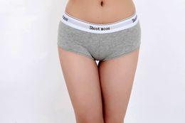 Wholesale Seamless Boxers - Shoot moon brand Fashion Women's Boxer Lingerie Women Underwear Sexy Seamless women boxer Panties