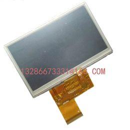 Wholesale Gps Lcd Screen - Wholesale- 4.3 inch MP5 GPS TFT LCD Inside Display Screen KD43G18-40NB-A1 KD43G18-40NB-A5 C430P T43P12