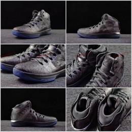 "Wholesale Table Tennis Balls Quality - 2017 Retro 31 XXXI ""Battle Grey"" Men Basketball Shoes AAA Quality Retros 31s Sport Shoe Mens Air Trainers Basket ball Run Sneakers 7-12"