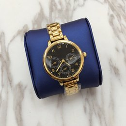 Wholesale Retro Gold Watch - 2017 Hot Sale Watch Women Luxury Brand Fashion Retro Waterproof genuine Leather Quartz Watch Women WristWatches Relogio Feminino small dial