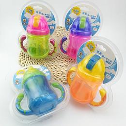 2017 nuovo prodotto di alta qualità M17055 Bere tazze per bambini con un manico di paglia tazze in vendita da i capezzoli all'ingrosso della bottiglia del bambino fornitori