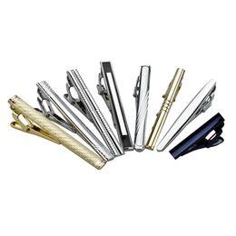 Wholesale Tie Packing Clip - Argositment 8pcs Men Fashion Alloy Tie Clip Set with Packing