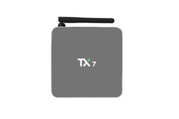 Wholesale Android Mini Tvbox - Android 6.0 Smart TV Box TX7 Amlogic S905X Quad Core 2G 32G Mini PC Bluetooth 2.4G 5.8G Wifi 4K H.265 Streaming Media Player 32GB ROM TVbox