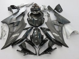 Wholesale Motorcycle Fairing Kit Yamaha Yzfr6 - New Motorcycle Bodywork Fairing Kit For Yamaha YZF R6 YZFR6 R600 2006 2007 YZF-R6 06 07 Injection Mold Fairings Set Black UV Painted