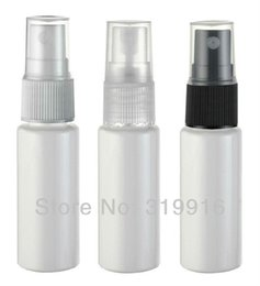 Wholesale Free Miniatures - Wholesale- Free shipping miniature 20ml white plastic bottle with Mist spray 100pc lot