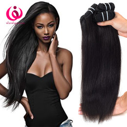 Wholesale Queen Soft - Human Hair Malaysian Straight Weave Bundles 3pcs lot Wow Queen Products Soft and Thick 100% Unprocessed Malaysian Virgin Hair Extensions