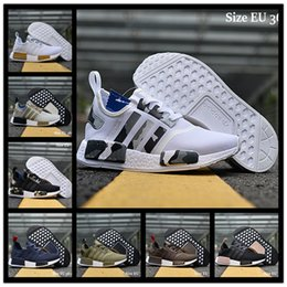 Wholesale Clear Net Lights - 2017 New Arrival NMD XR1 Boost Duck Camo Navy White Army Green for Top quality MND III Net Surface Running Shoes Size 36-45