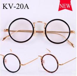 a1a49d93958 vintage glasses gold frames Coupons - Gold glass frame VINTAGE frames  KV-20A male ultralight