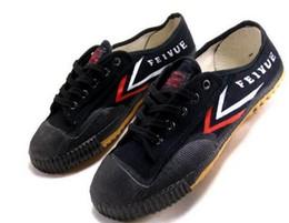 Kung fu weiß schwarz online-dorp shipping Feiyue Ultraleichte Canvas Sneaker Schuhe für Männer und Frauen, für Kung Fu, Kampfsport und Freizeitsport Classic schwarz und weiß