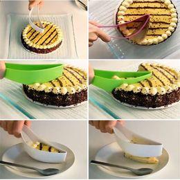 Wholesale Cake Server Plastic - Wholesale- New Kitchen Gadget Bread Pie Cake Slicer Slice Sheet Cutter Knife Server Tool