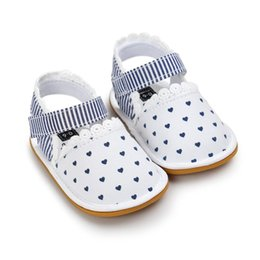 Wholesale Sole Baby Shoes Girl - Wholesale- Cute Summer Baby Girl Shoes Baby First Walkers Casual Toddler Shoes Sneaker Anti-slip Soft Sole Toddler Infant Shoes