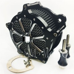 Wholesale Street Bob - Motorcycle accessories Air Intake Filter for Harley Dyna Fat Bob Softail springer street 1993-2015